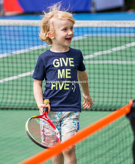 Den Bosch, Netherlands, 08 June, 2016, Tennis, Ricoh Open, Kidsday <br /> Photo: Henk Koster/tennisimages.com