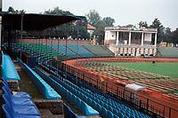 General view of NK Olimpija Ljubljana Football ground, Bezigrad Central Stadium, Ljubljana, Slovenia