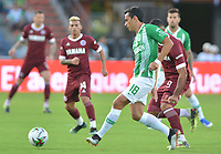 MEDELLIN - COLOMBIA, 06-07-2019: Atlético Nacional de Ciolombia y Lanús de Argentina en partido amistoso como pretemporda de la Liga Águila II 2019 jugado en el estadio Atanasio Girardot de la ciudad de Medellín. / Atletico Nacional of Colombia and Lanus of Argentina Cali in friendly match as part od preseason of the Liga Aguila I 2019 played at the Atanasio Girardot Stadium in Medellin city. Photo: VizzorImage / Leon Monsalve / Cont