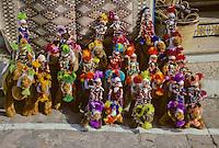 Tunisia, Sidi Bou Said.  Stuffed Camels and Dolls.