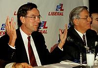 Montreal (QC)CANADA -   Jan 28 1991 File Photo  - <br /> <br /> Quebec Premier and<br /> Liberal Provincial Leader Robert Bourassa