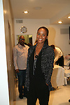 Joy Bryant attends Celebrity Hairstylist Amoy Pitters & Host Joy Bryant Celebrate The Opening of Amoy Couture Hair Salon with Music by DJ Cassidy, New York, 2/16/10