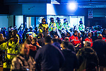 © Joel Goodman - 07973 332324 . 26/10/2016 . Trafford , UK . Policing operation outside Old Trafford ahead of the Premier League derby between Manchester United and Manchester City . Photo credit : Joel Goodman