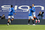 Rangers v St Johnstone…25.04.21   Ibrox.  Scottish Cup<br />James Tavernier celebrates his goal<br />Picture by Graeme Hart.<br />Copyright Perthshire Picture Agency<br />Tel: 01738 623350  Mobile: 07990 594431
