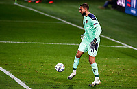 Italy's goalkeeper Gianluigi Donnarumma in action during the UEFA Nations League football match between Italy and Netherlands at Bergamo's Atleti Azzurri d'Italia stadium, October 14, 2020.<br /> UPDATE IMAGES PRESS/Isabella Bonotto