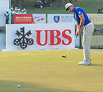 Rafael Cabrera Bello of Spain putts on the green during the 58th UBS Hong Kong Golf Open as part of the European Tour on 10 December 2016, at the Hong Kong Golf Club, Fanling, Hong Kong, China. Photo by Marcio Rodrigo Machado / Power Sport Images