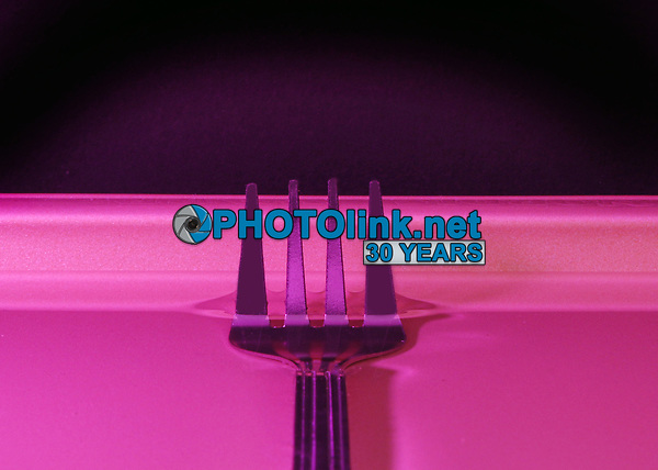 Fork in Water<br /> Photo By Adam Scull/PHOTOlink.net