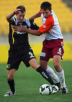 081026 A-League Football - Phoenix v Roar