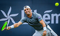 Den Bosch, Netherlands, 14 June, 2018, Tennis, Libema Open, Malek Jaziri (TUN)<br /> Photo: Henk Koster/tennisimages.com