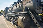 Essex, CT Steam Train excursion. Locomotive.