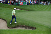 Graeme McDOWELL (NIR) during round 3 of the 2015 BMW PGA Championship over the West Course at Wentworth, Virgina Water, London. 23/05/2015<br /> Picture Fran Caffrey, www.golffile.ie:
