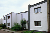 Deutschland, Sachsen-Anhalt, Bauhaus in Dessau, Unesco-Weltkulturerbe, Törten-Siedlung von Walter Gropius 1926/1928