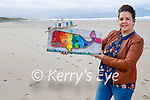 Fiona Alsema is auctioning a piece of 'Whale' art made from recycled plastics found on Banna Beach and the funds raised will go to Seal Rescue Ireland charity.