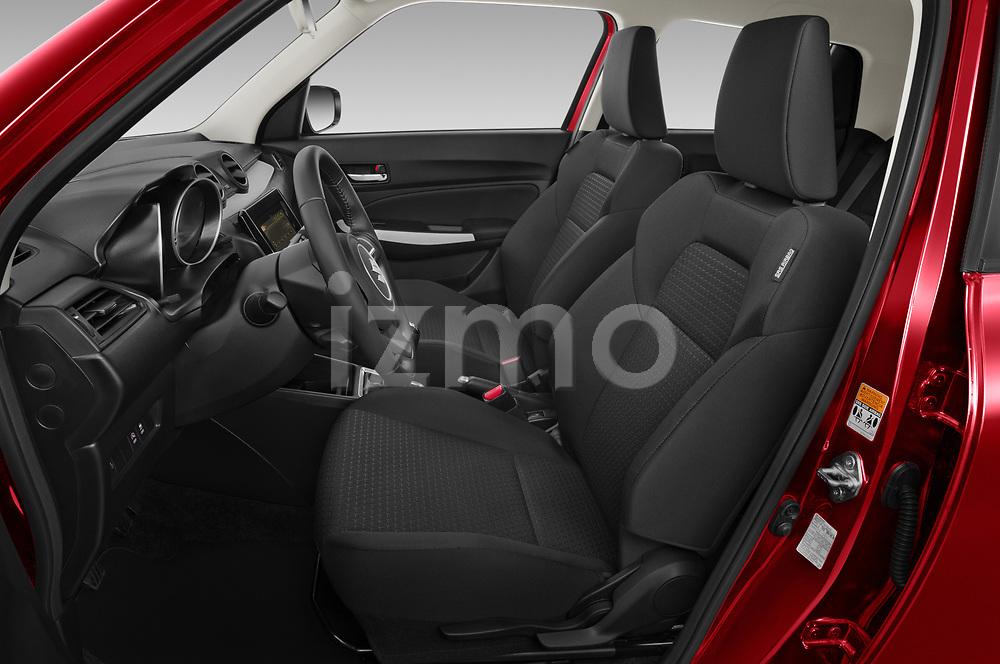 Front seat view of 2021 Suzuki Swift GL-Plus-Hybrid 5 Door Hatchback Front Seat  car photos