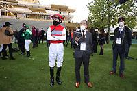 4th October 2020, Longchamp Racecourse, Paris, France; Qatar Prix de l Arc de Triomphe;  JP Spencer - M Hashida