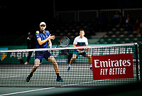Rotterdam, The Netherlands, 11 Februari 2020, ABNAMRO World Tennis Tournament, Ahoy, <br /> Jamie Murray (GBR) and Neal Skupski (GBR).<br /> Photo: www.tennisimages.com