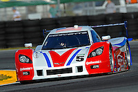#5 Action Express Chevrolet Corvette of Darren Law, David Donohue & Chrisian Fittipaldi