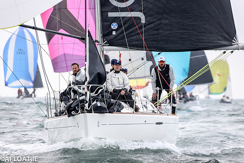 Royal Ulster Beneteau 31.7 Victory for John Minnis & 'Final Call' Crew on Dublin Bay