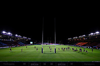 9th September 2020; Twickenham Stoop, London, England; Gallagher Premiership Rugby, London Irish versus Harlequins; General view of inside an empty The Stoop stadium during the 2nd half captured from a remote camera in the stands