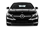 Car photography straight front view of a 2017 Mercedes Benz CLA-Class - 5 Door wagon Front View