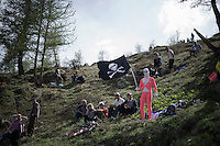 'Il Pirate' fan?<br /> <br /> stage 20: Guillestre (FR) - Sant'Anna di Vinadio (IT) 134km<br /> 99th Giro d'Italia 2016