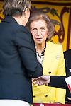 Queen Sofia during the Red Cross Fundraising day event (Dia de la Banderita) in Madrid, Spain. October 02, 2015.<br /> (ALTERPHOTOS/BorjaB.Hojas)