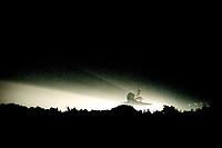 "Landing, Space Shuttle  Atlantis, STS 101Mission, May 2000, Kennedy Space Center, Titusville, FL.  Crew:  Commander James D. Halsell Jr., Pilot Scott J. ""Doc"" Horowitz, Mission Specialists Mary Ellen Weber, Jeffrey N. Williams, James S. Voss, Susan J. Helms and Yury Vladimirovich Usachev.  (Photo by Brian Cleary/bcpix.com)"