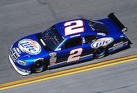 Feb 07, 2009; Daytona Beach, FL, USA; NASCAR Sprint Cup Series driver Kurt Busch during practice for the Daytona 500 at Daytona International Speedway. Mandatory Credit: Mark J. Rebilas-