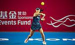Samantha Stosur of Australia vs Nao Hibino of Japan during their Singles Round 1 match at the WTA Prudential Hong Kong Tennis Open 2016 at the Victoria Park Tennis Stadium on 11 October 2016 in Hong Kong, China. Photo by Marcio Rodrigo Machado / Power Sport Images