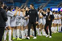 Stanford, CA - December 8, 2019: Hideki Nakada at Avaya Stadium. The Stanford Cardinal won their 3rd National Championship, defeating the UNC Tar Heels 5-4 in PKs after the teams drew at 0-0.