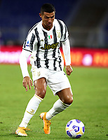 Football, Serie A: AS Roma - Juventus, Olympic stadium, Rome, September 27, 2020. <br /> Juventus' Cristiano Ronaldo in action during the Italian Serie A football match between Roma and Juventus at Olympic stadium in Rome, on September 27, 2020. <br /> UPDATE IMAGES PRESS/Isabella Bonotto