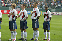 USA Men's team, Denmark vs. USA, 2004.