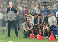 Carson, CA -  Friday August 24, 2018: The Los Angeles Galaxy and Los Angeles FC played to a 1-1 tie during a Major League Soccer (MLS) game at StubHub Center.