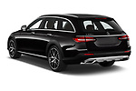 Car pictures of rear three quarter view of 2021 Mercedes Benz E-Class All-terrain-Avantgarde 5 Door Wagon Angular Rear