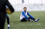 St Johnstone Training…. 15.01.21<br />David Wotherspoon pictured during training at McDiarmid Park ahead of tomorrows game against St Mirren<br />Picture by Graeme Hart.<br />Copyright Perthshire Picture Agency<br />Tel: 01738 623350  Mobile: 07990 594431