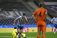 Fußball, CL, FC Porto - Juventus Turin FC Porto v Juventus FC Champions League 17/02/2021. Mehdi Taremi of Porto scores and celebrates his goal during their UEFA Champions League Round of 16 match between FC Porto and Juventus FC at Estadio do Dragao, Porto, Portugal on 17 February 2021. Porto Estadio do Dragao Porto Portugal Editorial use only PUBLICATIONxNOTxINxUK , Copyright: xNunoxGuimaraesx PSI-11901-0008<br /> Porto 17/02/2021 Stadio Dragao <br /> Football Uefa Champions League 2019/2020 Round of 16 Leg 1<br /> Porto - Juventus <br /> Photo Imago/Insidefoto <br /> ITALY ONLY