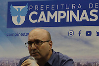 Campinas (SP), 10/03/2021 - Dario Saadi - O prefeito de Campinas (SP), Dario Saadi (Republicanos), realizou nesta quarta-feira (10), um anuncio com ações emergenciais que serão tomadas para o combate a covid-19 na cidade.
