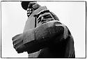 Uzbekistan - Tashkent - Statue of Soviet soldier.