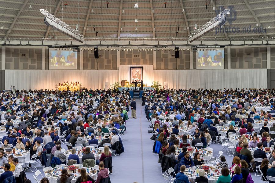 January 22, 2018; 2018 MLK Luncheon (Photo by Matt Cashore/University of Notre Dame)