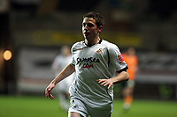 Pictured: Joe Allen of Swansea City in action <br /> Picture by D Legakis / Athena Picture Agency, Swansea, 07815441513