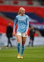 1st November 2020; Wembley Stadium, London, England; Womens FA Cup Final Football, Everton Womens versus Manchester City Womens; Chloe Kelly of Manchester City Women