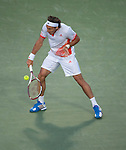 Juan Monaco loses in the semifinals at the Sony Ericsson Open in Key Biscayne, Florida on March 30, 2012