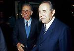 CARLO AZEGLIO CIAMPI CON ANTONIO GHIRELLI TEATRO ELISEO ROMA 1983