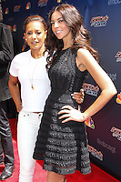 HOLLYWOOD, LOS ANGELES, CA, USA - APRIL 22: Mel B, Terri Seymour arrive at NBC's 'America's Got Talent' Red Carpet Event held at the Dolby Theatre on April 22, 2014 in Hollywood, Los Angeles, California, United States. (Photo by Xavier Collin/Celebrity Monitor)