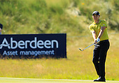 James MORRISON (ENG) during the quarter final round of the Aberdeen Asset Management Paul Lawrie Matchplay being played over the Fidra Links at Archerfield, East Lothian from 4th to 7th August 2016:  Picture Stuart Adams, www.golftourimages.com: 06/08/2016
