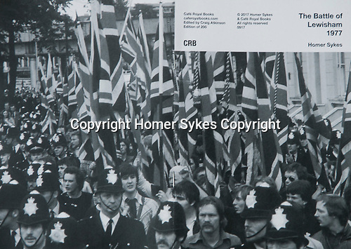 The Battle of Lewisham 1977. Cafe Royal Books<br /> SOLD OUT