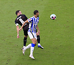 17.10.2020, OLympiastadion, Berlin, GER, DFL, 1.FBL, Hertha BSC VS. VfB Stuttgart, <br /> DFL  regulations prohibit any use of photographs as image sequences and/or quasi-video<br /> im Bild Carneiro da Cunha (Hertha BSC Berlin #10), Gonzalo Castro (VfB Stuttgart #8)<br /> <br />     <br /> Foto © nordphoto /  Engler