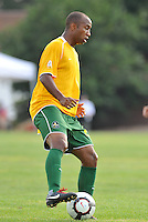 Collen Warner (stl)...AC St Louis and NSC Minnesota Stars played to a 2-2 tie at Anheuser-Busch Soccer Park, Fenton, Missouri.
