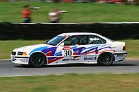1992 British Touring Car Championship. #30 Alain Menu (CHE). M Team Mobil. BMW 318is Coupe.