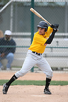 January 17, 2010:  Brian Cupa (Ontario, CA) of the Baseball Factory California Team during the 2010 Under Armour Pre-Season All-America Tournament at Kino Sports Complex in Tucson, AZ.  Photo By Mike Janes/Four Seam Images